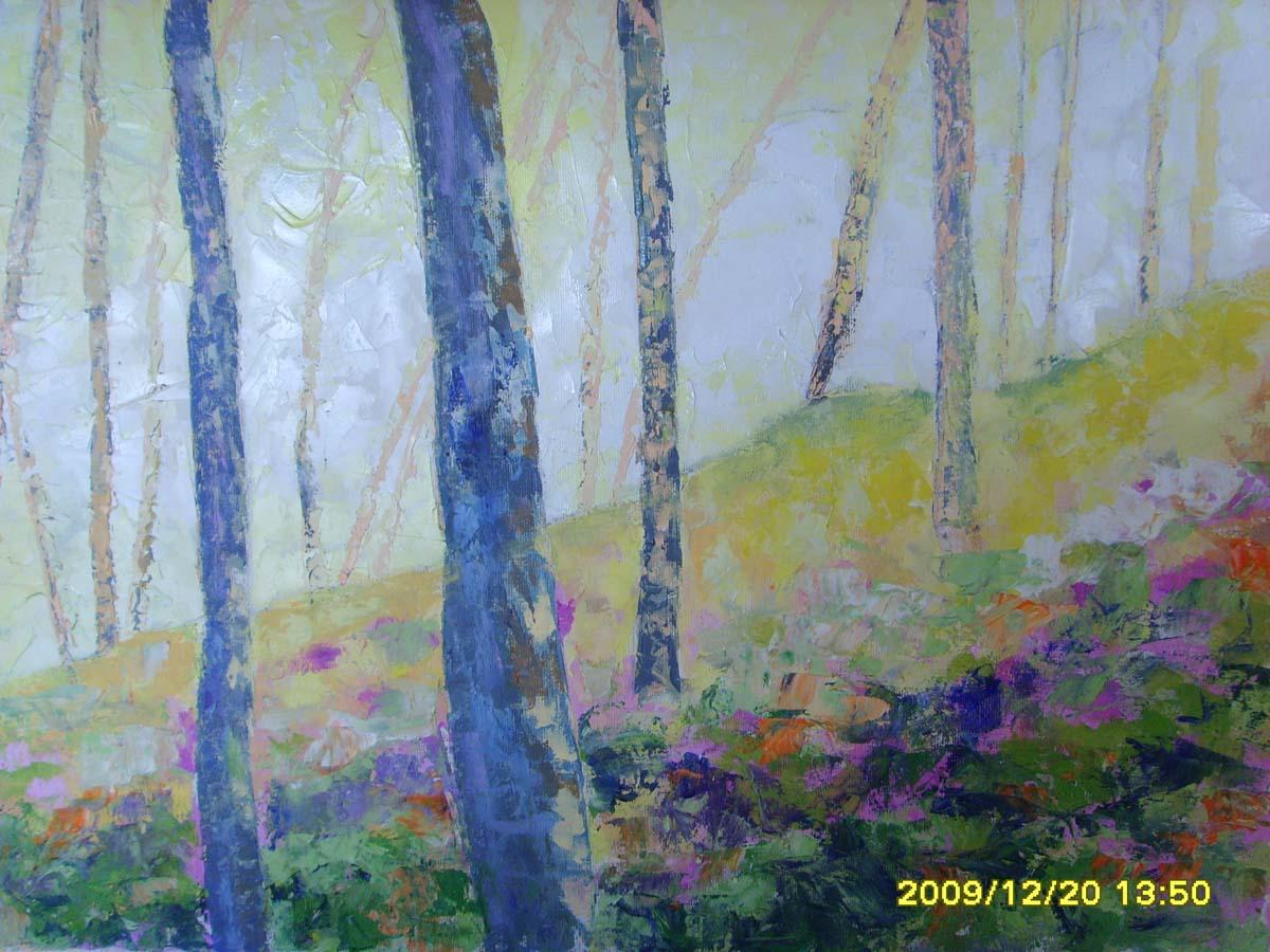 Color en la ladera 2009