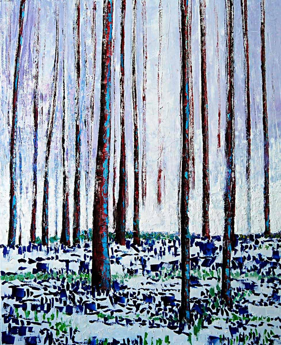Bosque primigenio 100x81cm 2015